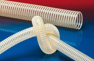 德国NORRES-PU(聚氨酯)管,吸料,集尘,塑筋加强,耐磨,排风,食品/NORPLAST® PUR 385