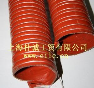 红色高温管-硅胶管,吸料,集尘,钢丝加强,高温,排风,排静电管,280度