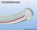 日本TOYOX-PVC管,吸料,集尘,钢丝加强,真空,水,排静电,TOYOSPRING HOSE (真空胶管、耐压软管)-TS