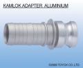 日本TOYOX-管件,铝合金接头,对接/KAMLOK ADAPTER 胶管接头 铝合金/633-E AL