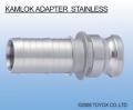 日本TOYOX-管件,不锈钢接头,对接/KAMLOK ADAPTER 胶管接头 不锈钢制/633-E-SST