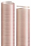 意大利IPL-PU(聚氨酯)吸料管,钢丝加强,高温,耐磨,真空,排风,高压气(水),食品,防静电/用于颗粒物,碎料,塑料粒子等/Vulcano PU HDSP 20 XFLEX (X2)