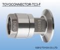 日本TOYOX东洋克斯-TOYOCONNECTOR TC3-F接头 (TOYOX胶管专用接头)