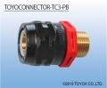 日本TOYOX东洋克斯工业管专用接头TOYOCONNECTOR TC3-PB接头