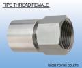 日本TOYOX-管件,不锈钢接头,螺纹管接头(内螺纹),金属接头,(PIPE THREAD FEMALE)/H04